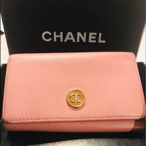 Chanel Trifold Key holder